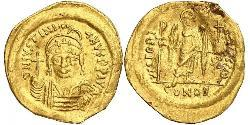 1 Solidus Byzantine Empire (330-1453) Gold