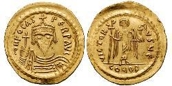 1 Solidus Byzantine Empire (330-1453) Gold Phocas(?-610)