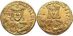 1 Solidus Byzantinisches Reich (330-1453) Gold Nikephoros I Logothetes(760-811)