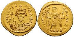 1 Solidus Byzantinisches Reich (330-1453) Gold Phocas(?-610)