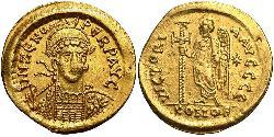1 Solidus Byzantinisches Reich (330-1453) Gold Zenon (425- 491)