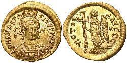1 Solidus Byzantinisches Reich (330-1453) Gold Anastasios I (430-518)