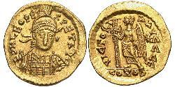 1 Solidus Byzantinisches Reich (330-1453) Gold Leo I (401-474)