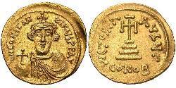 1 Solidus Byzantinisches Reich (330-1453) Gold Constans II (630-668)