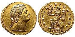 1 Solidus Römische Kaiserzeit (27BC-395) Gold Konstantin I (272 - 337)