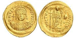 1 Solidus Empire byzantin (330-1453) Or Justinien I (482-565)