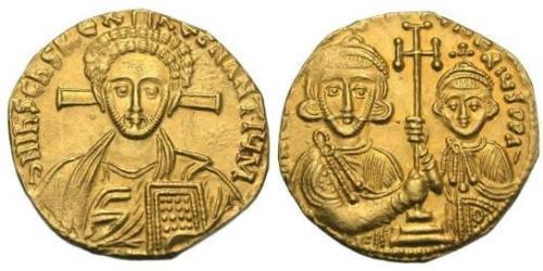 1 Solidus Empire byzantin (330-1453) Or