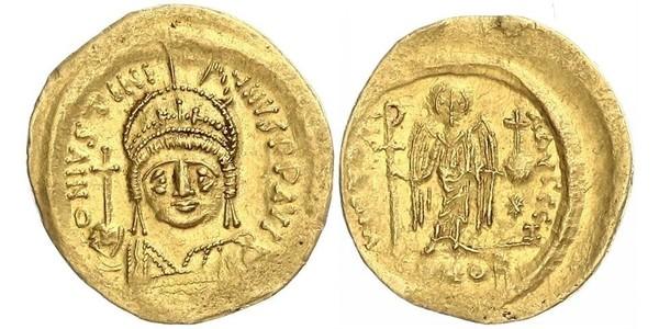 1 Solidus Empire byzantin (330-1453) Or Justinien I (482-565)