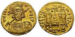 1 Solidus Imperio bizantino (330-1453) Oro Constantino IV (652-685)