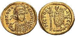 1 Solidus Imperio bizantino (330-1453) Oro Zenon (425- 491)