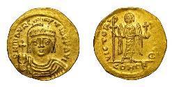 1 Solidus Impero bizantino (330-1453) Oro Maurizio Tiberio (539-602)