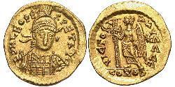 1 Solidus Impero bizantino (330-1453) Oro Leone I il Trace (401-474)
