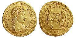 1 Solidus Impero bizantino (330-1453) Oro Costante I (320-350)