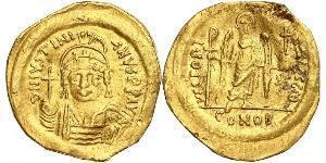 1 Solidus Impero bizantino (330-1453) Oro Giustiniano I (482-565)