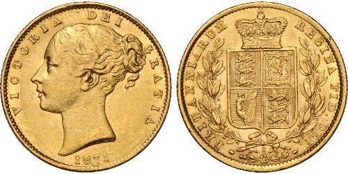 1 Sovereign 澳大利亚 金 维多利亚 (英国君主)