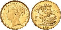 1 Sovereign Australien (1788 - 1939) Gold Victoria (1819 - 1901)