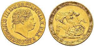 1 Sovereign United Kingdom of Great Britain and Ireland (1801-1922) / United Kingdom Gold George III (1738-1820)
