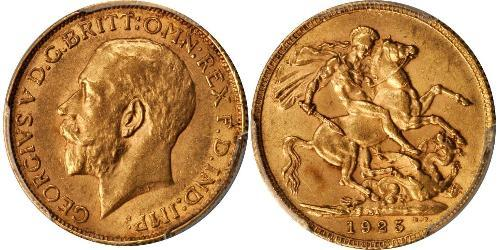 1 Sovereign Afrique du Sud Or George V (1865-1936)