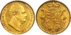 1 Sovereign Regno Unito di Gran Bretagna e Irlanda (1801-1922) Oro Guglielmo IV (1765-1837)