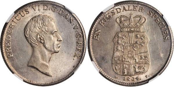 1 Speciedaler Denmark Silver