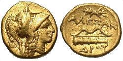 1 Stater Macedonian Kingdom (800BC-146BC) Gold Alexander III of Macedon (356BC-323BC)