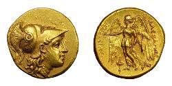 1 Statere Regno di Macedonia (800BC-146BC) Oro Alessandro III Magno (356BC-323BC)