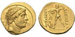 1 Statere Regno greco-battriano (256BC-125BC) Oro