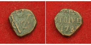 1 Stuiver 荷蘭共和國 (1581 - 1795) 銅