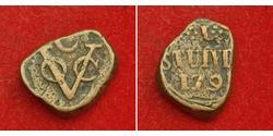 1 Stuiver Republik der Sieben Vereinigten Provinzen (1581 - 1795) Kupfer