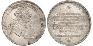 1 Taler Германия Серебро
