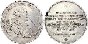 1 Taler Німеччина Срібло