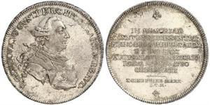 1 Taler 德国 銀
