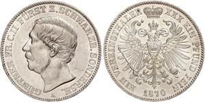 1 Taler Principauté de Schwarzbourg-Sondershausen (1599-1920) Argent