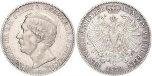 1 Taler Schwarzburg-Sondershausen (1599-1920) Silver