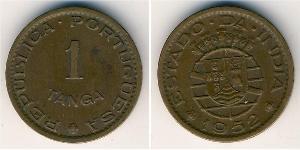 1 Tanga 葡屬印度 (1505 - 1961) 青铜