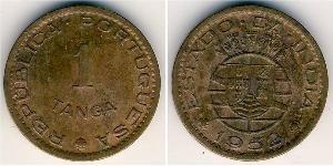 1 Tanga India portoghese (1510-1961) Bronzo