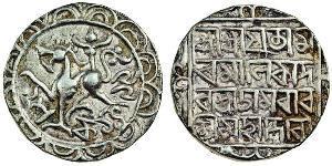 1 Tangka 印度 銀