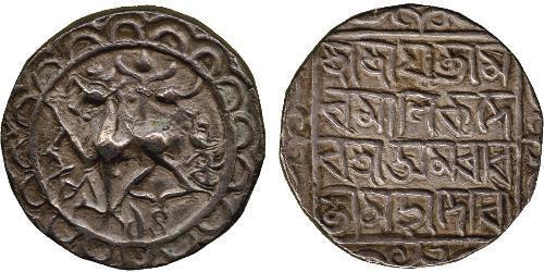 1 Tangka Indien Silber