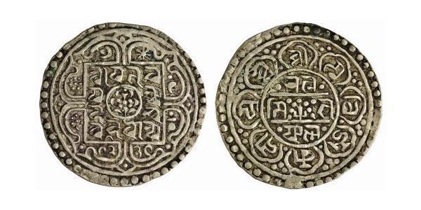 1 Tangka Tibet Silber