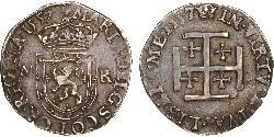 1 Testoon Kingdom of Scotland (843-1707) Silver Mary I of Scots (1542-1587)