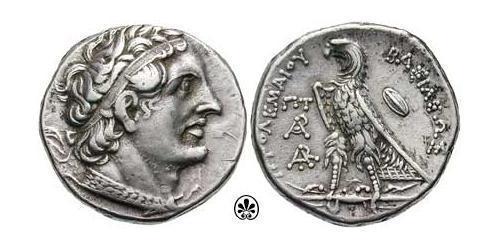 1 Tetradrachm 托勒密王國 (305 BC - 30 BC) 銀 Ptolemy II Philadelphus (309BC-246BC)