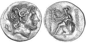 1 Tetradrachm Ancient Greece (1100BC-330) 銀 亚历山大大帝 (356BC-323BC)