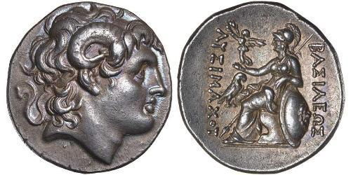 1 Tetradrachm Ancient Greece (1100BC-330) 銀 亚历山大大帝 (356BC-323BC)