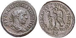 1 Tetradrachm Roman Empire (27BC-395) Billon Philip the Arab (204-249)