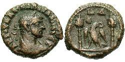 1 Tetradrachm Römische Kaiserzeit (27BC-395) Bronze Diocletian (244-311)