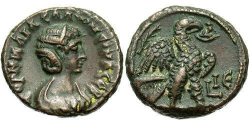 1 Tetradrachm Roman Empire (27BC-395) Bronze Salonina (?-268)