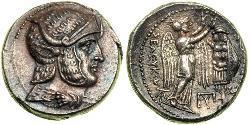1 Tetradrachm Antikes Griechenland (1100BC-330) Silber Seleukos I.(358BC-281BC)