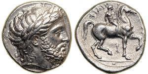 1 Tetradrachm Antikes Griechenland (1100BC-330) Silber Philip II of Macedon (382 BC - 336 BC)