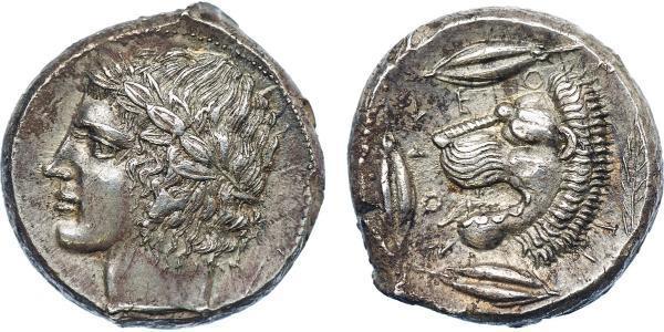 1 Tetradrachm Antikes Griechenland (1100BC-330) Silber