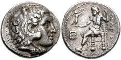1 Tetradrachm Seleukidenreich (312BC-63 BC) Silber Seleukos I.(358BC-281BC)
